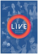 LIVE Poster 2 - A3