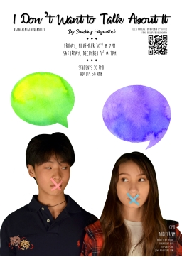 talk about it poster 1 - keana and edward